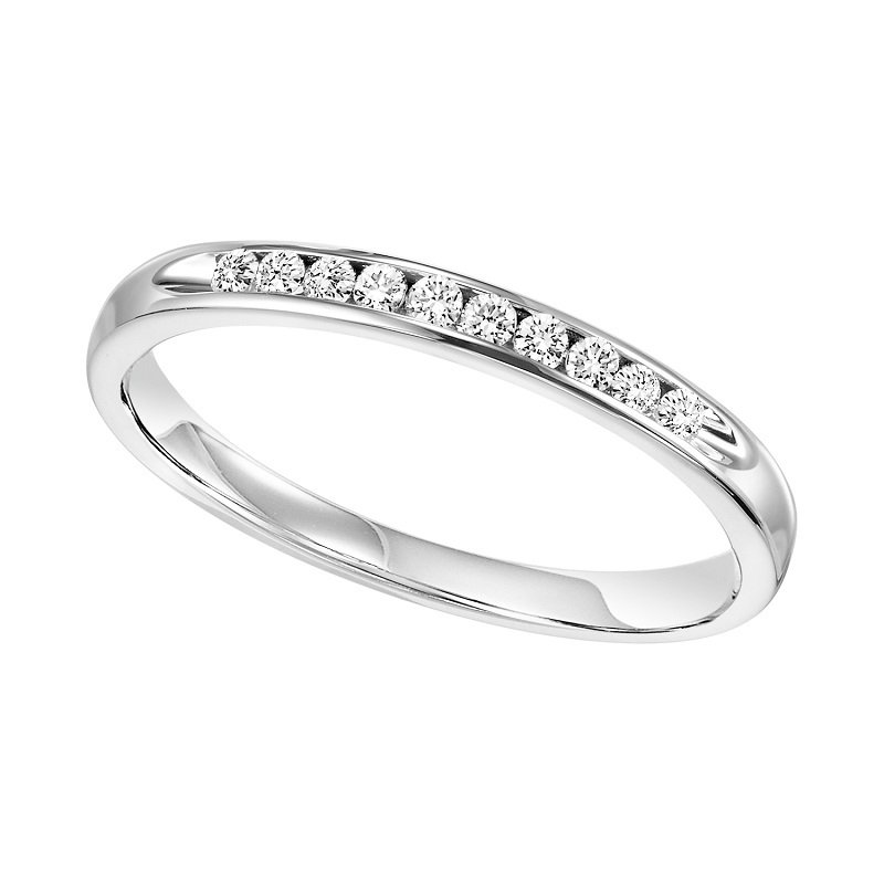 Bridal Bells 14K Diamond Band 1/7 ctw