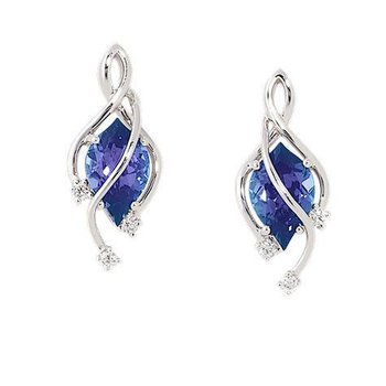 Alexandrite Earrings-CE3489WAL