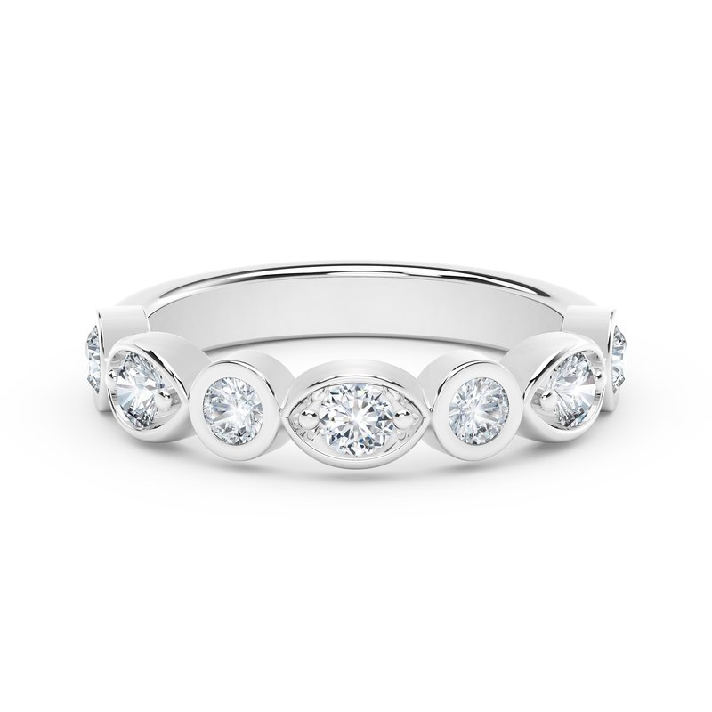 Forevermark The Forevermark Tribute™ Collection Stackable Bezel Set Diamond Ring