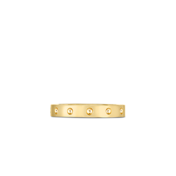 18KT GOLD SYMPHONY POIS MOI BAND RING