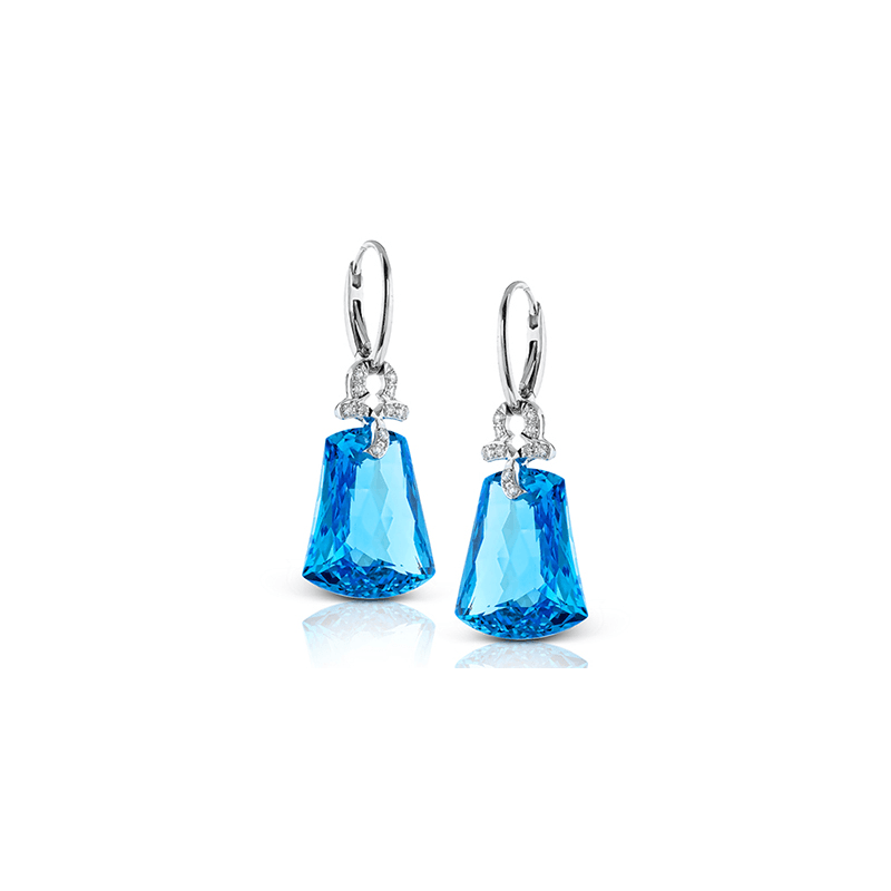 Zeghani ZE457 COLOR EARRING