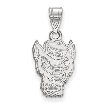 Sterling Silver North Carolina State University NCAA Pendant