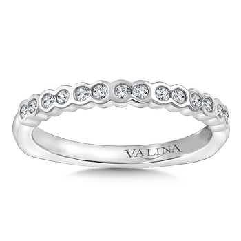 Stackable Wedding Band in 14K White Gold (.19 ct. tw.)