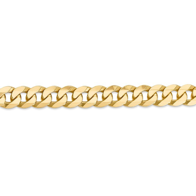 Leslie's Leslie's 14K 9.5mm Flat Beveled Curb Chain