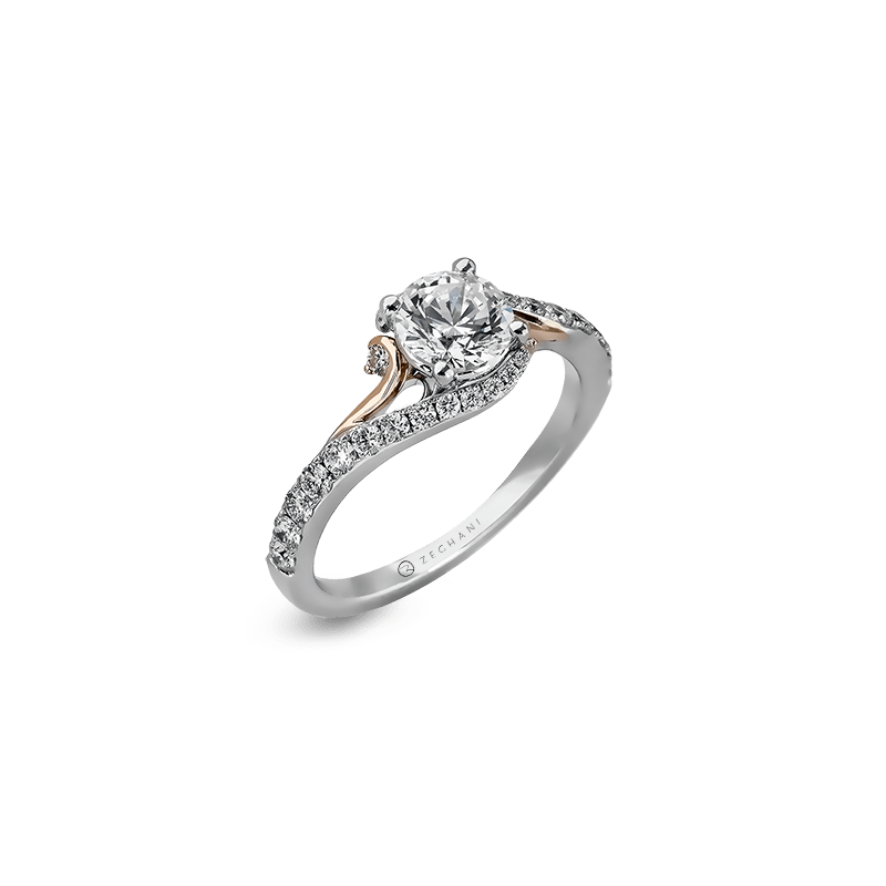 Zeghani ZR874 ENGAGEMENT RING
