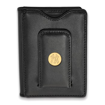 Gold-Plated Sterling Silver New York Yankees MLB Wallet