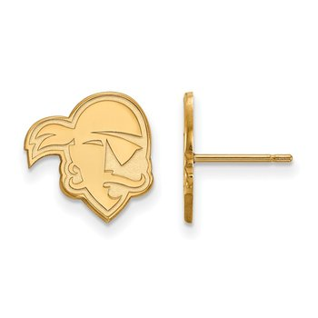 Gold Seton Hall University NCAA Earrings