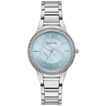 Ladies' Crystal Accent Bracelet Watch