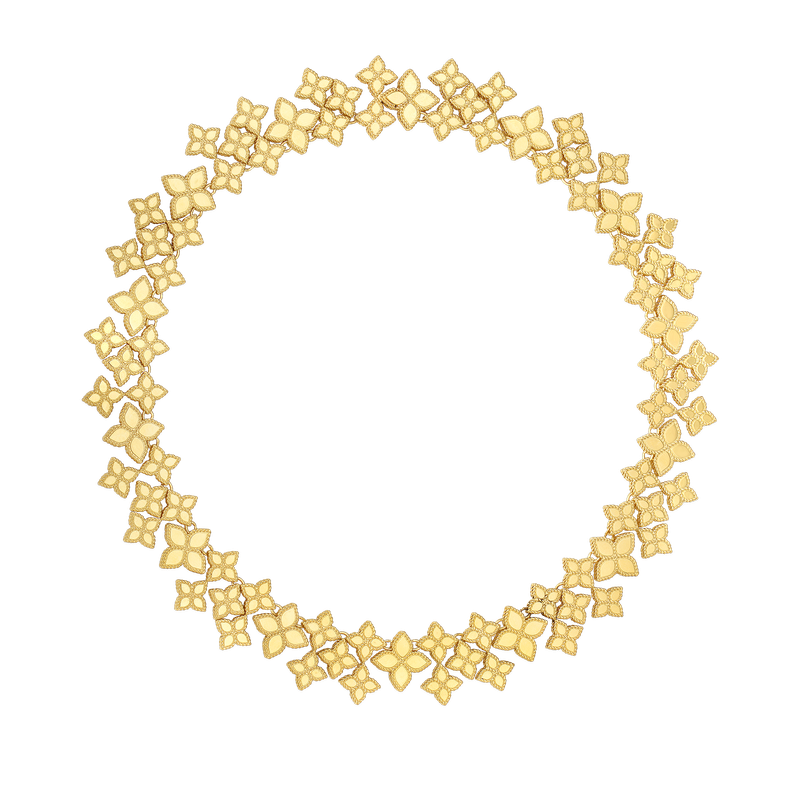 Roberto Coin 18Kt Gold Wide Link Collar