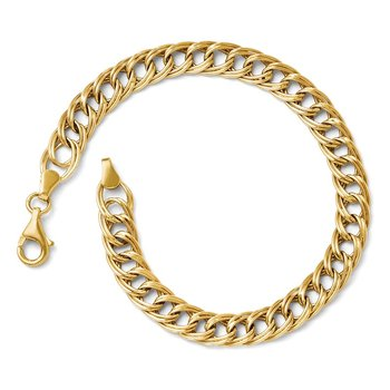Leslie's 14K Yellow Gold Fancy Link Bracelet