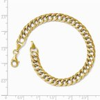 Leslie's Leslie's 14K Yellow Gold Fancy Link Bracelet
