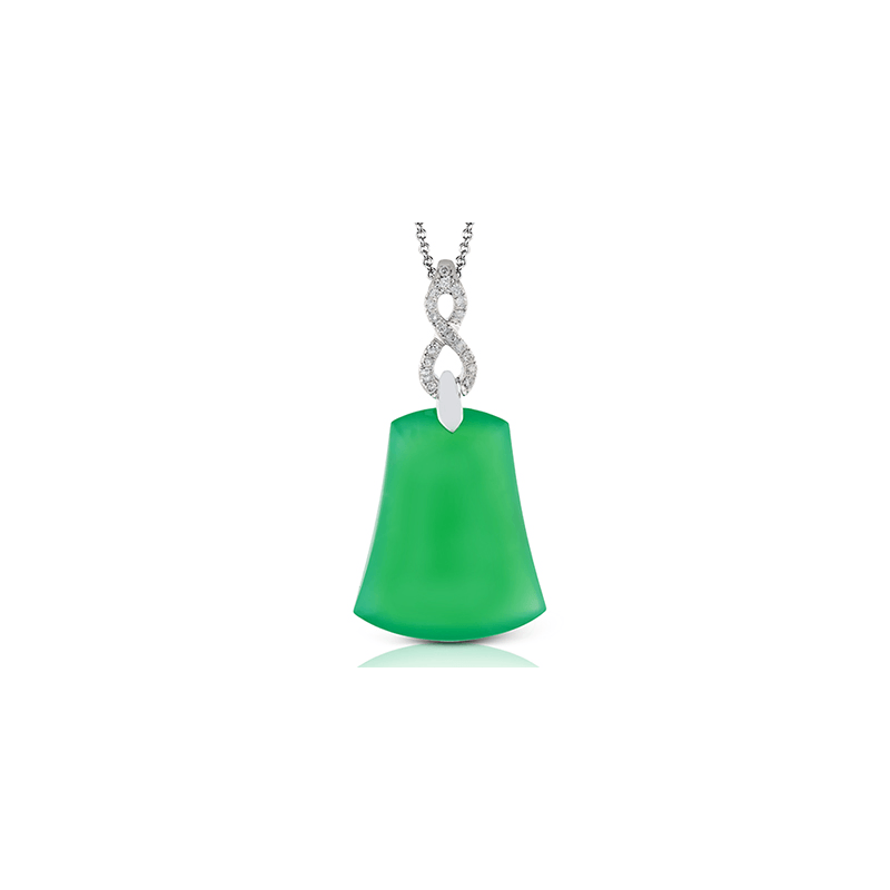 Zeghani ZP662 COLOR PENDANT