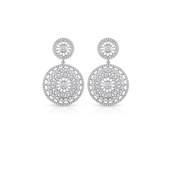 Cento Rosette Earrings