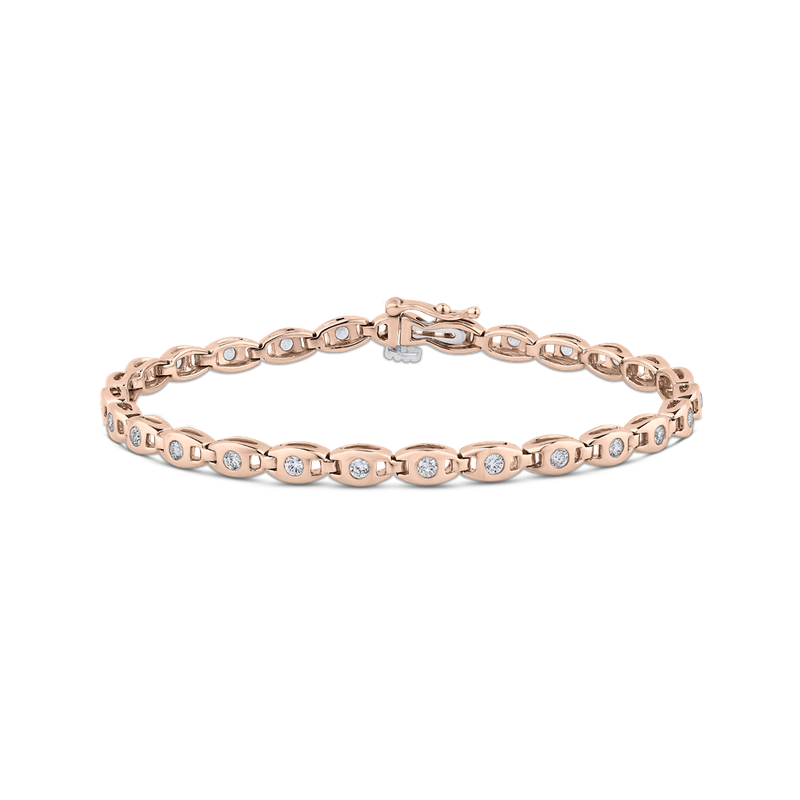 1.00 ct White Diamond Tennis Bracelet