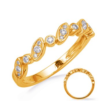 Yellow Gold Diamond Wedding Band