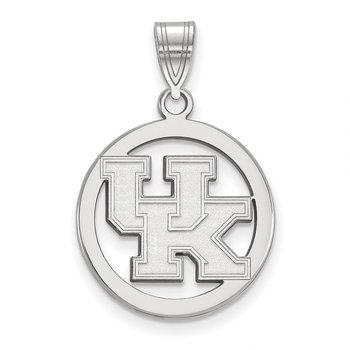 Sterling Silver University of Kentucky NCAA Pendant