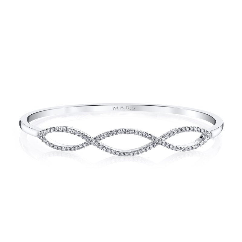 MARS Jewelry MARS 26553 Fashion Bracelet, 0.54 Ctw.