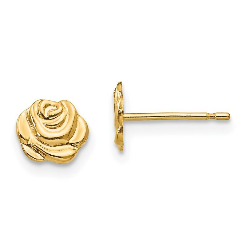 Quality Gold 14k Madi K Flower Post Earrings