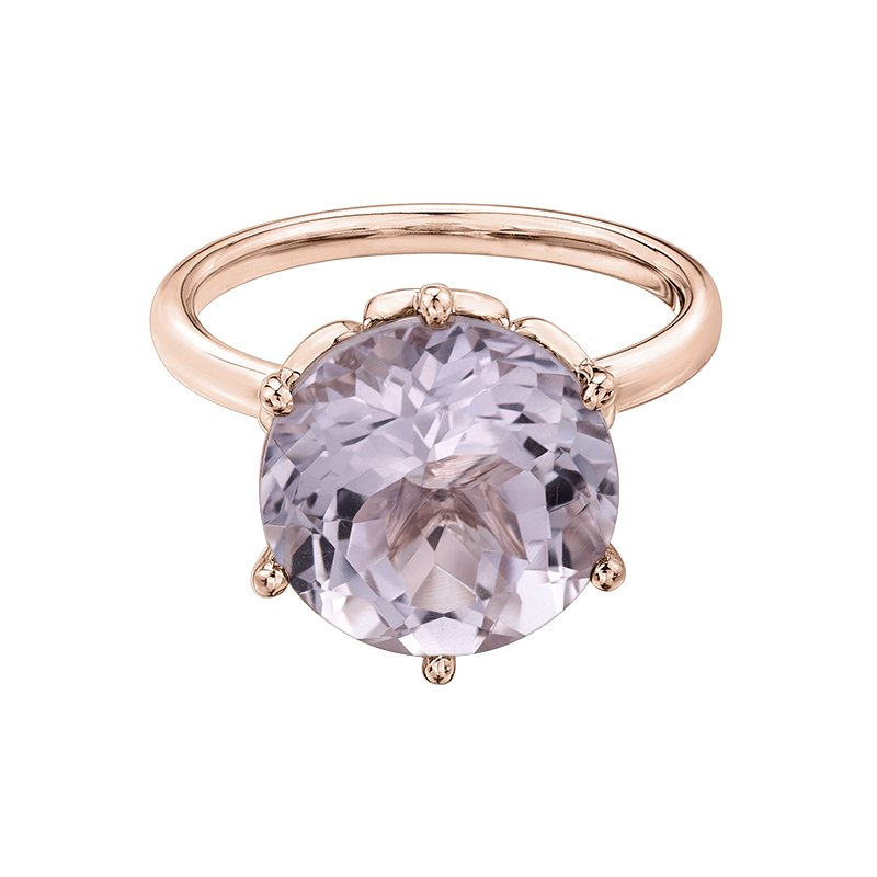Diamond Days Lilac Amethyst Ladies Ring