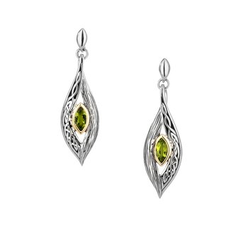 Elven Earrings (Peridot)