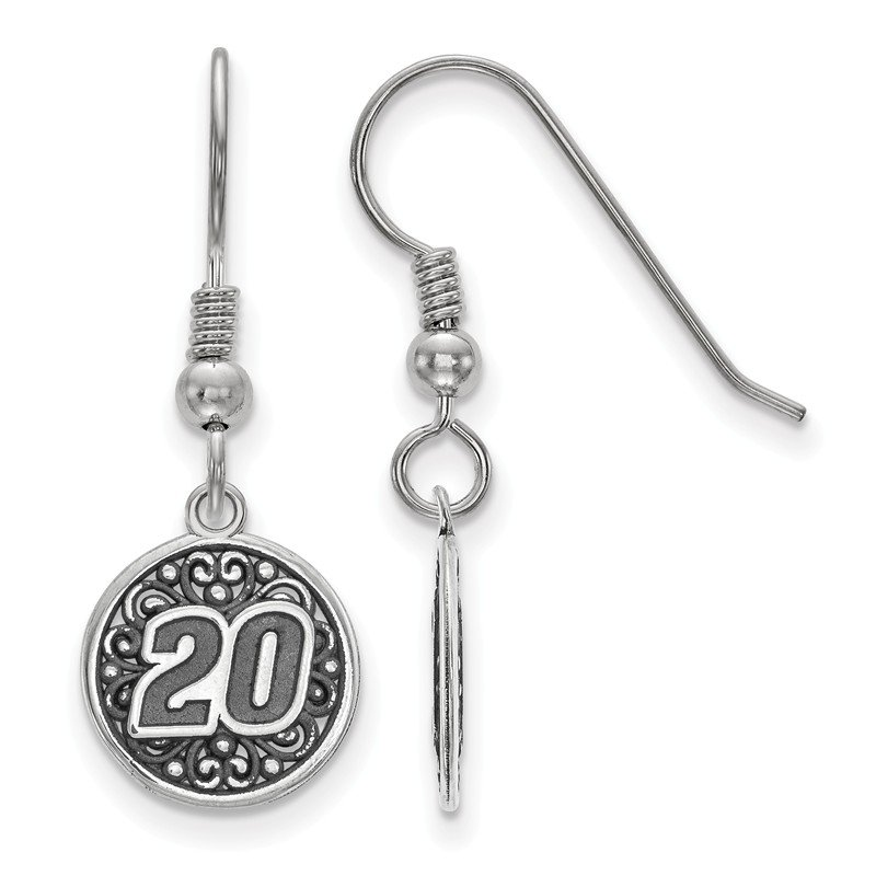 Nascar Sterling Silver 20 Matt Kenseth NASCAR Earrings