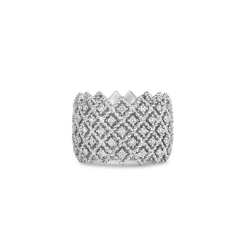 #19388 Of Five Row Diamond Band