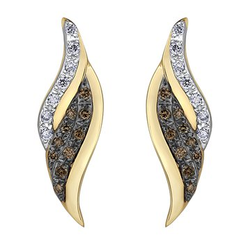 Nat Brown Diamond Earrings
