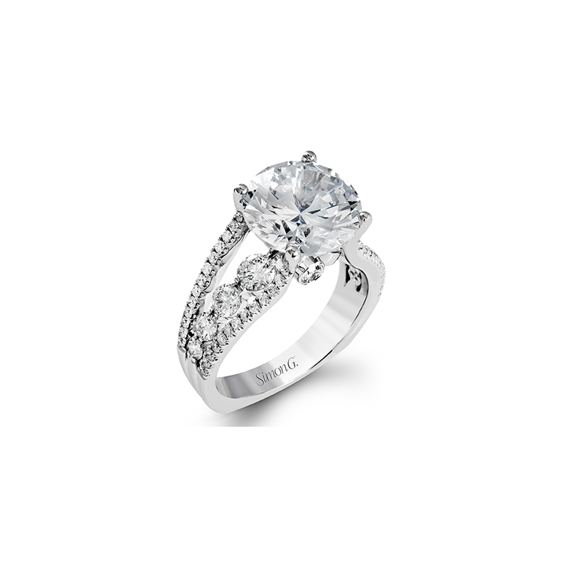 Simon G MR2689 ENGAGEMENT RING