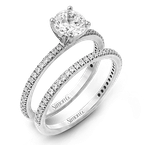 Simon G PR108 WEDDING SET
