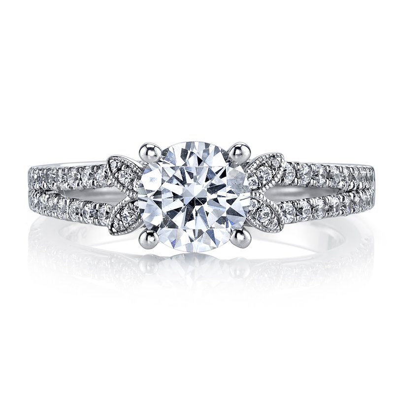 MARS Jewelry MARS 26246 Diamond Engagement Ring 0.38 Ctw.