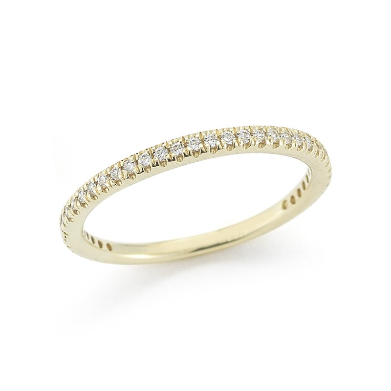 I. Reiss 14K-Y STACKABLE GALLERY RING, 0.25CT