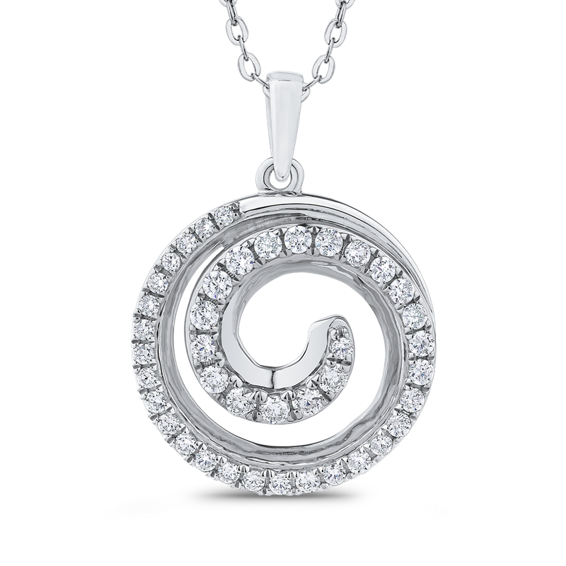 2/3 Ct Diamond Fashion Pendant with Chain