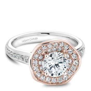 Noam Carver Floral Engagement Ring B014-05WRA