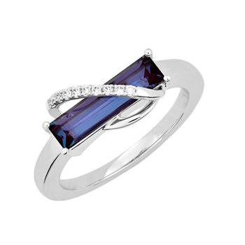 Alexandrite Ring-CR13115WAL
