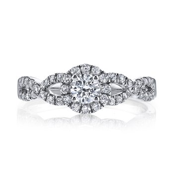 Diamond Engagement Ring 0.36 ct tw