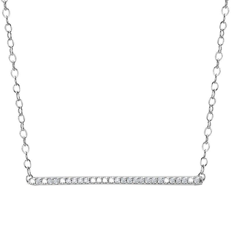 SDC Creations Diamond Bar Necklace