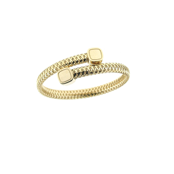 18KT GOLD FLEXIBLE WRAP BANGLE
