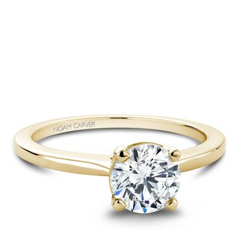 Noam Carver Modern Engagement Ring B018-01YA