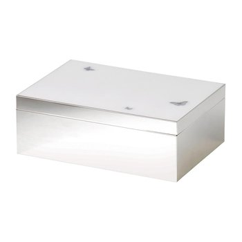 "Jewelry Box 9"" x 7"" White"