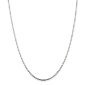 Sterling Silver 2mm Snake Chain