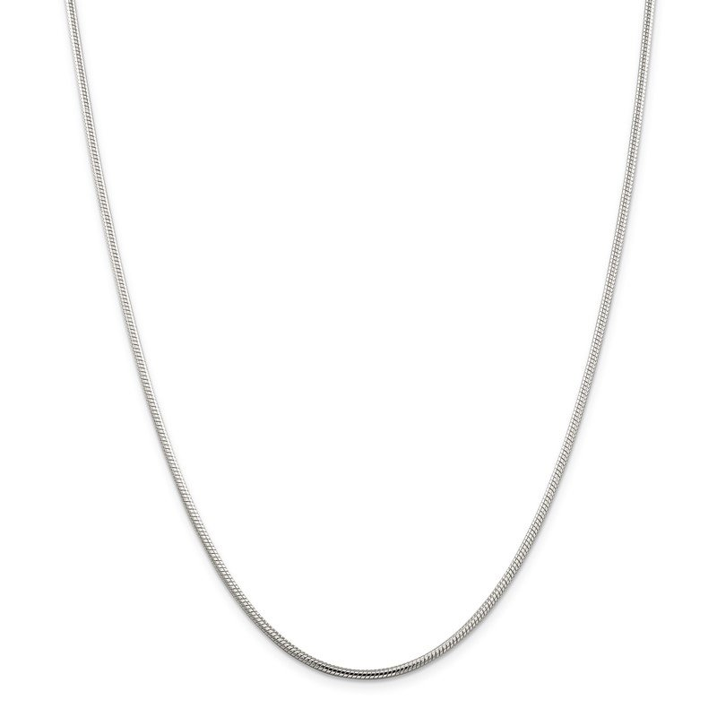 Quality Gold Sterling Silver 2mm Snake Chain