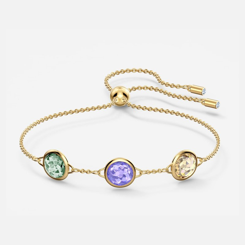 Tahlia Bracelet, Multicolored, Gold-tone plated