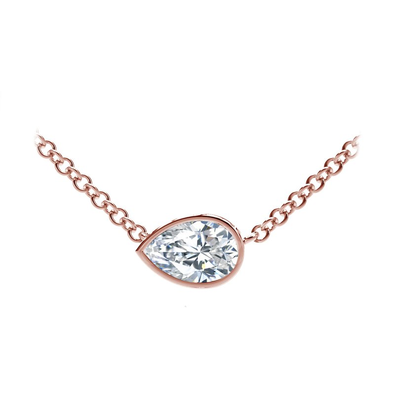 Forevermark The Forevermark Tribute™ Collection Pear Diamond Necklace