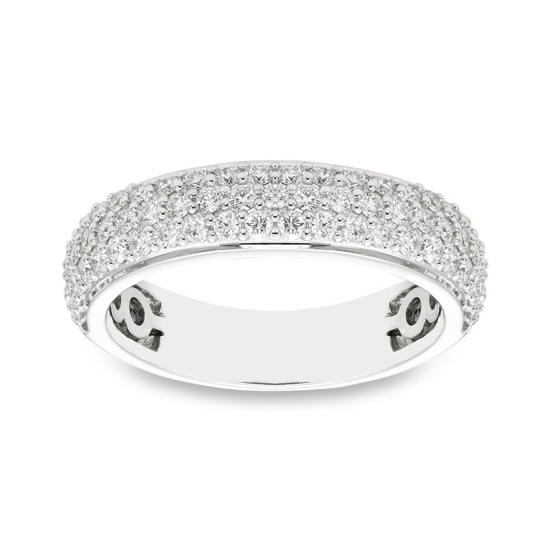 Victor White gold & pave diamond ring
