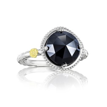 Bold Simply Gem Ring featuring Black Onyx