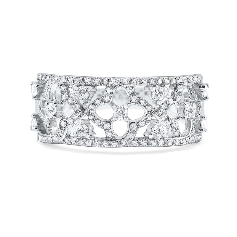 KC Designs 14K Diamond Lace Ring