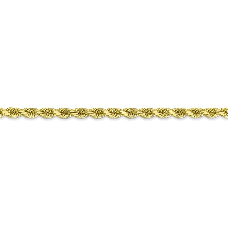 Leslie's Leslie's 10K 3.5mm Diamond-Cut Rope Chain