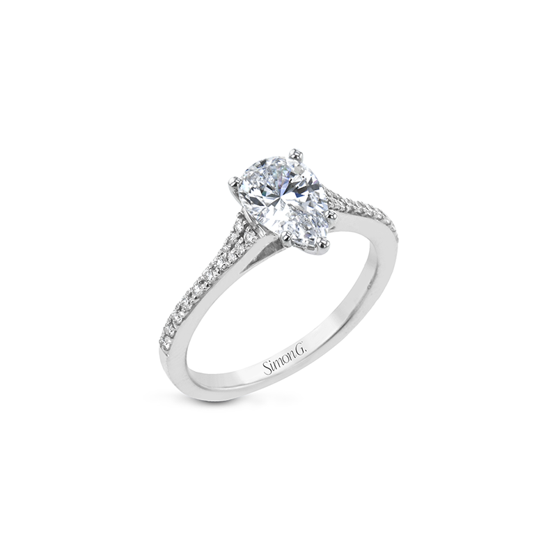 Simon G LR2507-PR ENGAGEMENT RING