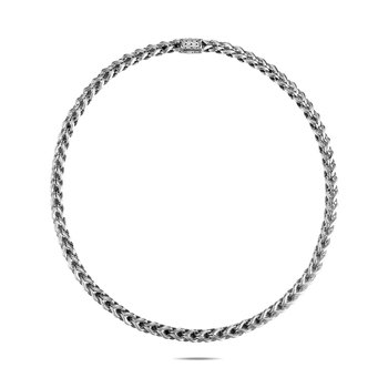 Asli Classic Chain Link 7MM Necklace in Silver. Available at our Halifax store.