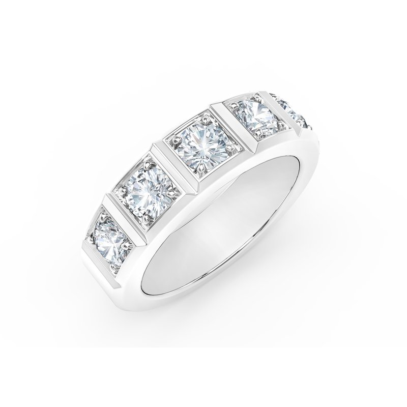 Forevermark Tribute Collection The Forevermark Tribute™ Collection Stackable Wedding Band